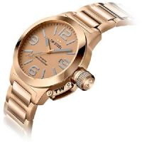 TW STEEL Canteen 40mm Rose Gold Watch TW303